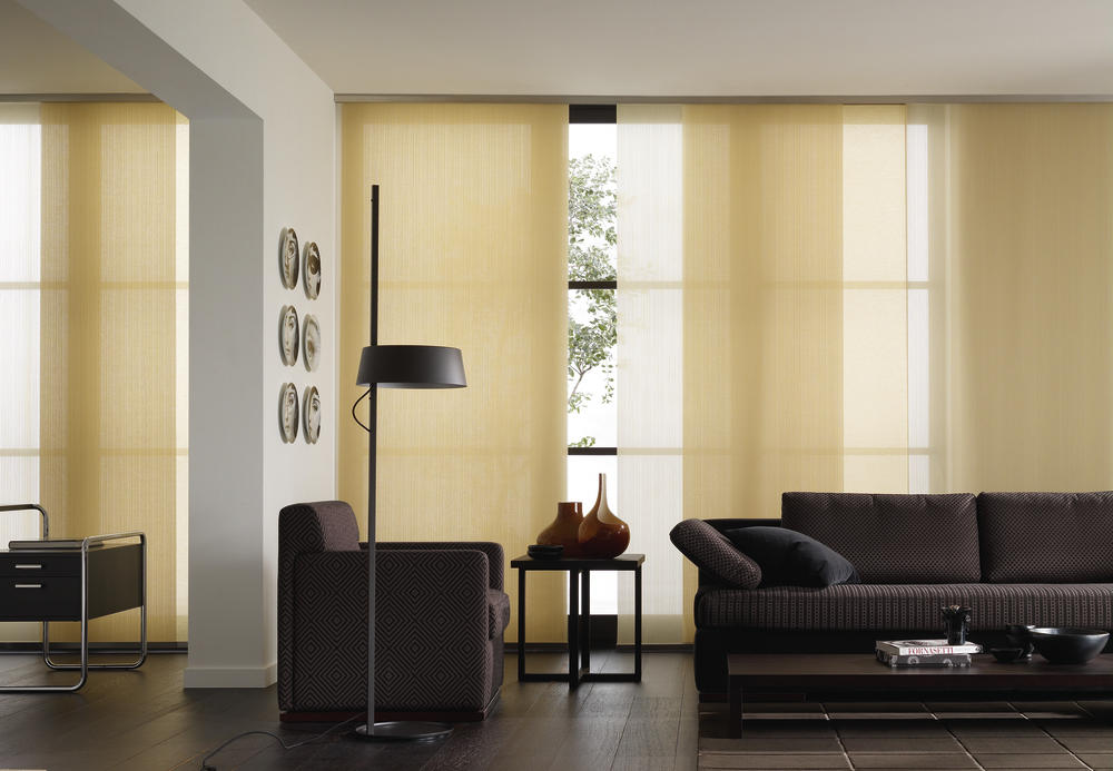 Paneelgordijnen als raambekleding - Gordijnen interieur decoratie ...