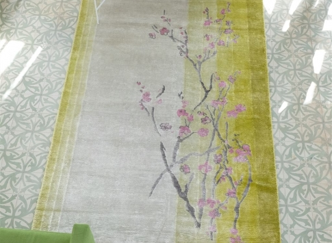 Siertapijt Designers Guild - Willow Blossom Lemon
